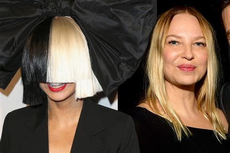 Sia Shows Off Her Real Face Without Signature Wig At