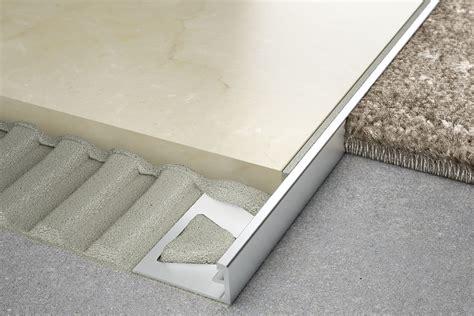 schluter schiene  height transitions  floors
