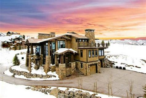 million contemporary mountaintop mansion  park