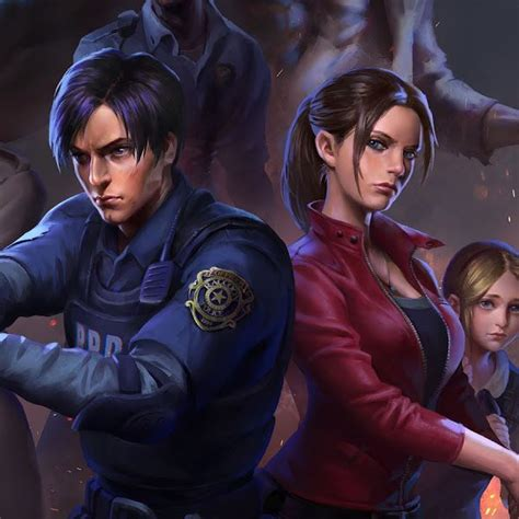 Resident Evil 2 Leon S Kennedy Claire Redfield Ada