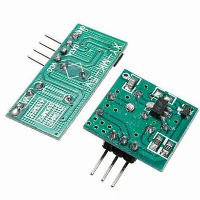 Transmitter Rf Receiver Arduino 433mhz Wireless Module