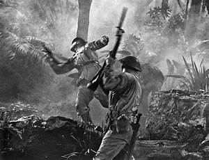 A World War II Hand To Hand Combat Battle Scene ...