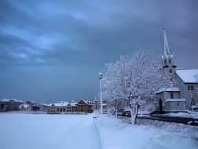 Reykjavik Iceland Winter