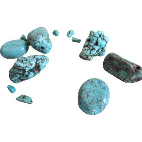 natural turquoise stone natural turquoise nugget stones 6 from