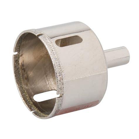 scie cloche diamant 45 mm pour carrelage silverline 571533