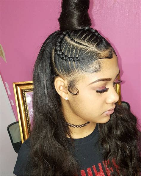 Sew In Ponytail Hairstyles by 45 Sew In Hairstyles For Every Occasion My New Hairstyles
