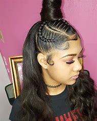 Cute Hairstyles with Braids and Weave