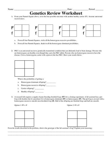 15 Best Images Of Pedigree Problem Worksheet Answers  Genetics Pedigree Worksheet Answer Key
