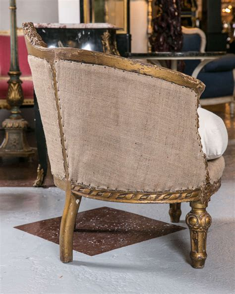 canape bergere pair of unique louis xiv style canapé bergères at
