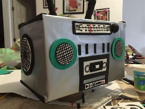 Radio Grabadora de Cartón Things to do Pinterest