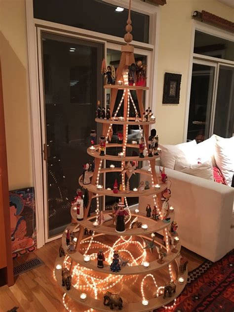 top modern wooden christmas trees  backyard
