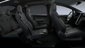 Tesla Model X Interior colors