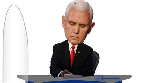 'Mike Pence Fly' bobblehead unveiled