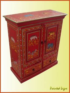 indian painted furniturewooden hand painted items hand