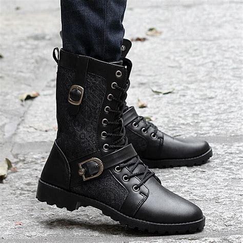 botas combate moda masculina vender por atacado