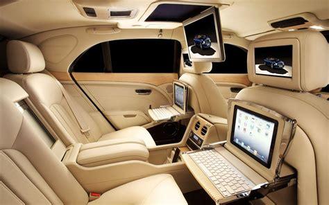 Bentley Mulsanne Interior Wallpaper