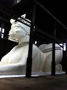 Kara Walker And Her Sugar Sphinx At The Old Domino Factory ...