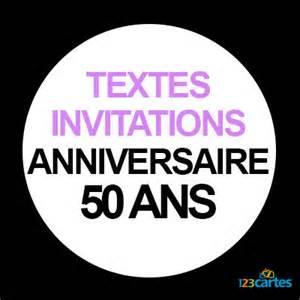 message fã licitation mariage texte invitation anniversaire 50 ans 123 cartes