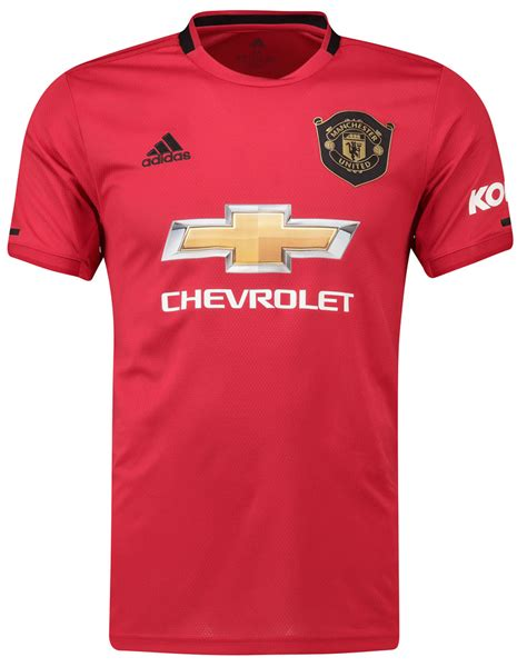 Manchester United Home 2019-2020 Men Jersey Football ...