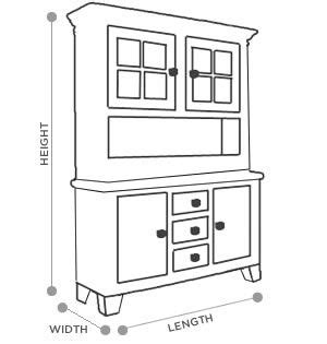 china cabinet dimensions summervilleaugustaorg