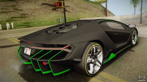 lamborghini centenario lp   carbon body  gta