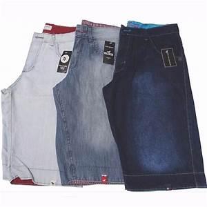 Kit 3 Bermudas Jeans Masculina Short Jeans Atacado Revenda ...