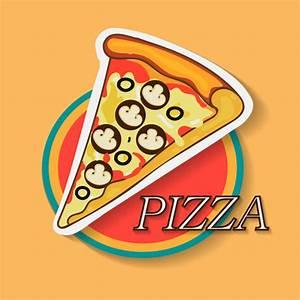 Logo Pizza Illustrator Free Vector Download  231 997 Free