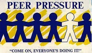 Teen drug use and peer presure