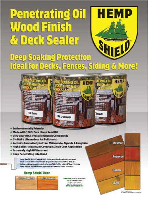 Non Toxic Deck Sealer