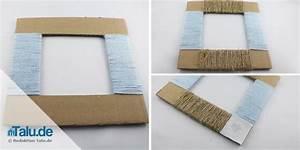 Fotorahmen Selbst Gestalten : bilderrahmen aus pappe papier selber bauen bastelanleitung ~ Markanthonyermac.com Haus und Dekorationen