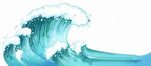 Waves ocean water clipart - Clipartix