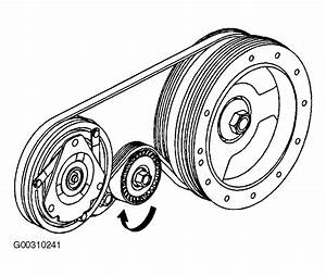 2004 Cadillac Cts Serpentine Belt Routing And Timing Belt
