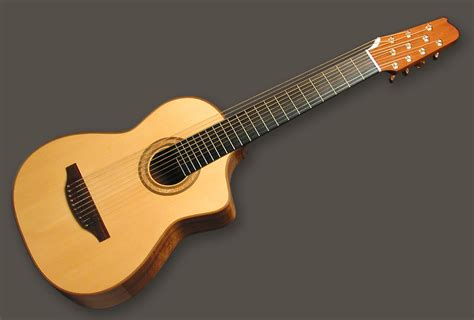 1990 Jeffrey Elliott 10string Harp Guitar For Sale At