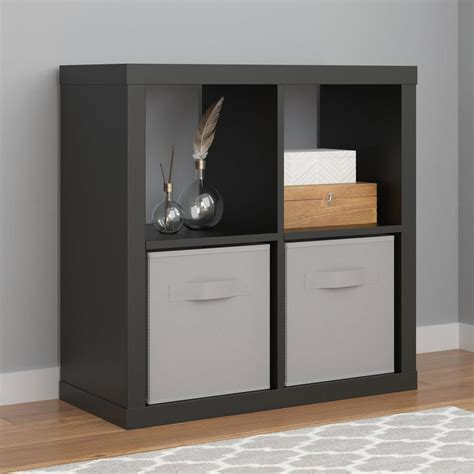 Parsons Bookcase by Ameriwood Parsons Black Bookcase 7682496com The Home Depot