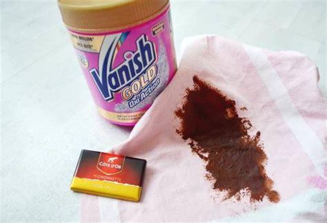 tache chocolat canap review du produit vanish gold oxi la fille du