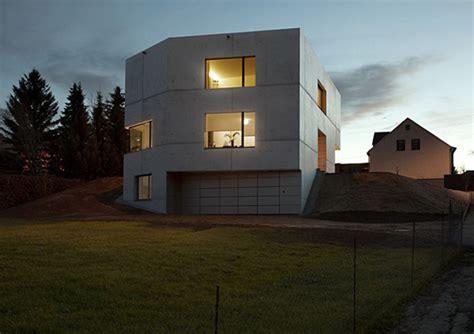 concrete home designs minimalist  germany modern