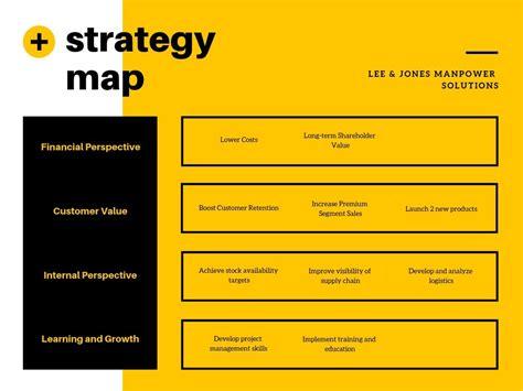 strategy map maker design  custom strategy