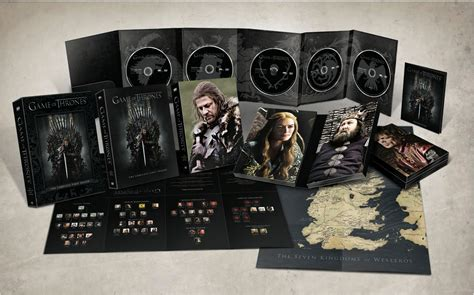 game  thrones complete season  dvd bd box set details