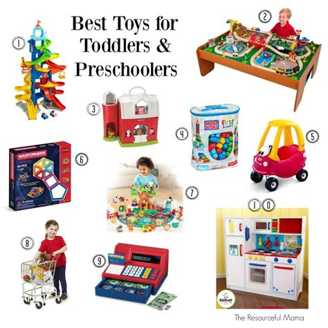 best toys for toddlers and preschoolers the resourceful 731 | best toys for toddlers and preschoolers numbered
