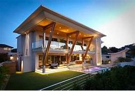 Modern Large Balconies Ultra Modern Home In Perth With Large Roof IDesignArch Interior