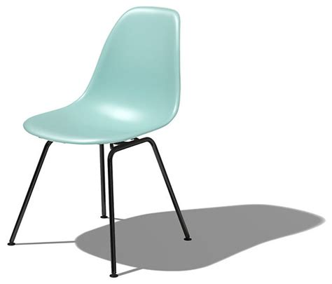 eames molded plastic side chair modern dining chairs