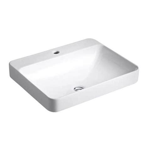 kohler vox sink drain kohler k22024 white kohler k22024 brookline 14 drop in