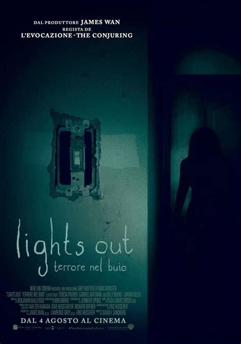 lights out cover lights out terrore nel buio il poster italiano del film