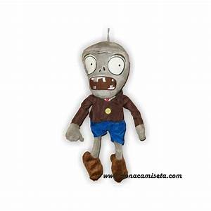 Peluche Zombie Plants Vs Zombies Doa Camiseta Salvado