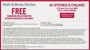 Bath and Body Works Printable Coupons August 2015