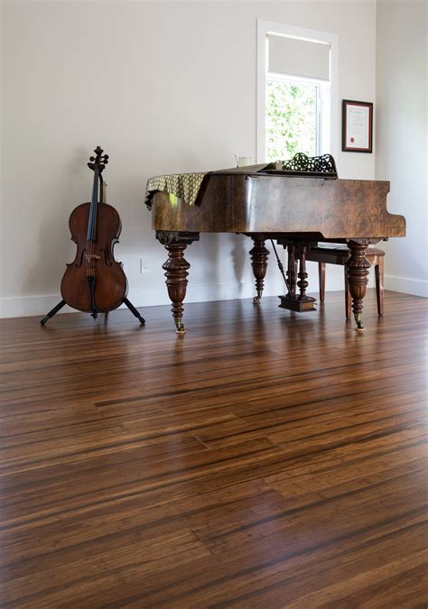 Woodland Strand Woven Bamboo Flooring by Woodland