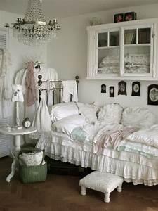 20, inspiring, french, shabby, chic, bedroom, ideas