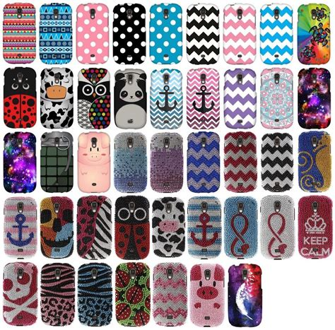 samsung galaxy light  snap  protector rubberized
