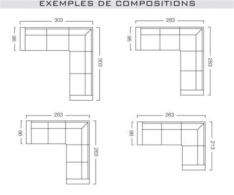 dimension canape d angle