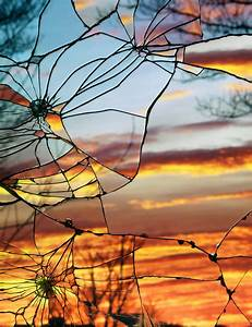 Photographs of Sunsets as Reflected through Shattered ...